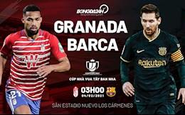 Nhan dinh bong da Granada vs Barca 3h00 ngay 4/2 (Cup nha vua TBN 2020/21)