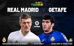 Nhan dinh Real Madrid vs Getafe (3h ngay 10/2): Thang duoc la quy