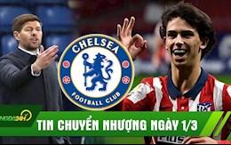TIN CHUYEN NHUONG 1/3: Gerrard thay the Klopp; Chelsea hoi mua Joao Felix