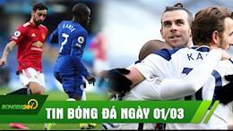 TIN BÓNG ĐÁ 1/3: Chelsea nhận tin buồn sau trận; Kante bóp chặt Bruno trong cầu 0 bàn thắng; Bale đi vào lịch sử NHA