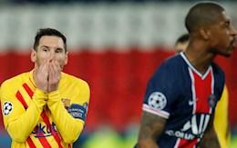 PSG 1-1 Barca: Messi nối gót Ronaldo rời Champions League