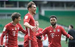 Thang de Bremen, Bayern Munich vung vang tren dinh bang