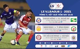 Ket qua - Bang xep hang V.League 2021 hom nay 23/3