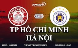 Truc tiep bong da TP Ho Chi Minh vs Ha Noi link xem BDTV