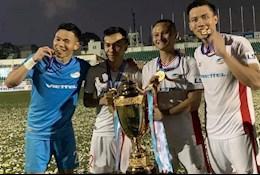 Dàn sao Nghệ An của CLB Viettel gửi lời tri ân đội bóng quê hương