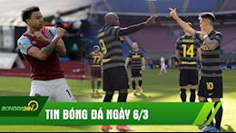 TIN BÓNG ĐÁ 06/03: Lingard cạnh tranh giải thưởng với Bruno; Inter Milan sắp đổi đời