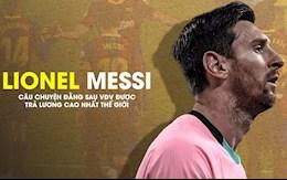 VIDEO: Lionel Messi đã trở thành VĐV được trả lương cao nhất thế giới như thế nào?