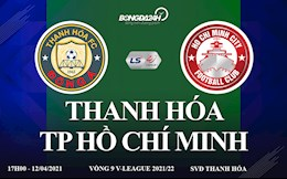 Truc tiep bong da Viet Nam tren VTV6: Thanh Hoa vs TP Ho Chi Minh