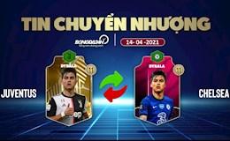TIN CHUYEN NHUONG 14/4: Chelsea chieu long sao bu Juventus; Barca dua nguoi cu tro lai
