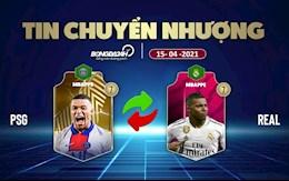 TIN CHUYEN NHUONG 15/4: MU nham tien dao Serie A thay the Cavani; Mbappe chot tuong lai tai Real?