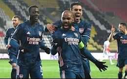 Link xem video Slavia Prague vs Arsenal: Lacazette het vo duyen