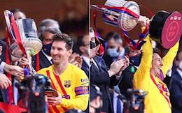 """Messi: """"Cảm xúc khi nâng cúp Nhà vua rất đặc biệt"""""""