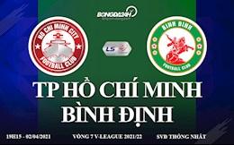 Truc tiep bong da TP Ho Chi Minh vs Binh Dinh vong 7 V-League o kenh nao ?