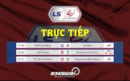 Truc tiep V.League chieu toi hom nay 2/4/2021 (Link xem BDTV, TTTV)