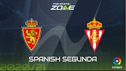 Nhận định bóng đá Zaragoza vs Gijon 2h00 ngày 24/4 (Hạng 2 TBN 2020/21)