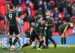 Tottenham thất bại, Son Heung Min lại khóc