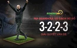 VIDEO: Pep Guardiola và cách sơ đồ 3-2-2-3 giải quyết vấn đề