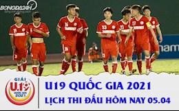 Lịch thi đấu, lịch trực tiếp U19 Quốc gia 2021 hôm nay 5/4: Quá khó cho HAGL