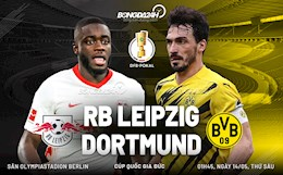 Nhận định bóng đá Leipzig vs Dortmund 1h45 ngày 14/5 (Cúp quốc gia Đức 2020/21)