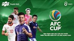 Chính thức: Các bảng đấu của AFC Cup 2021 khu vực Đông Nam Á bị hủy