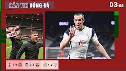 TIN BÓNG ĐÁ 3/5: Tottenham đè bẹp Sheffield; Trận MU - Liverpool bị hoãn vì lý do không tưởng