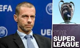 """Chủ tịch UEFA: Barca, Real và Juve đang """"tự sát"""" vì Super League"""