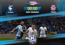Nhận định bóng đá Le Havre vs Toulouse 0h00 ngày 5/5 (Hạng 2 Pháp 2020/21)