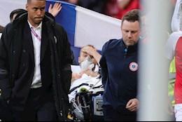 CẬP NHẬT: Eriksen đã tỉnh lại và được đưa vào bệnh viện