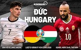 Tâm điểm Đức vs Hungary (2h00 ngày 24/6): Thắng to cho Mannschaft?