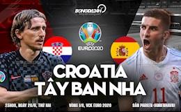 Trận cầu vàng: Soi kèo, dự đoán Croatia vs Tây Ban Nha (23h00 ngày 28/6)