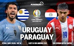 Nhận định, soi kèo Uruguay vs Paraguay 7h00 ngày 29/6 (Copa America 2021)