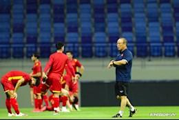 ĐT Việt Nam phải đổi giờ tập chính thức trước trận gặp ĐT Malaysia