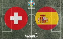 Đội hình dự kiến Thụy Sĩ vs Tây Ban Nha đêm nay 2/7/2021 (Tứ kết Euro 2020)