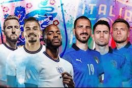 Link xem trực tiếp bóng đá VTV3: Italia vs Anh chung kết Euro 2020