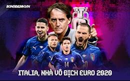 """Italy 1-1 (pen 3-2) Anh: Azzurri đăng quang ở Euro 2020 sau màn """"đấu súng"""" siêu kịch tính"""