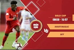 Nhận định bóng đá Martinique vs Mỹ 8h30 ngày 16/7 (Gold Cup 2021)