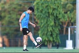 Đoàn Văn Hậu vẫn phải tập riêng ở Hà Nội FC