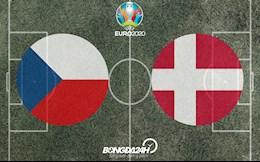 ĐỘI HÌNH CHÍNH THỨC: CH Séc vs Đan Mạch đêm nay 3/7/2021 (Tứ kết Euro 2020)