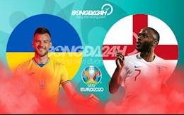 Thông tin trước trận đấu Ukraine vs Anh (Tứ kết Euro 2020) rạng sáng 4/7