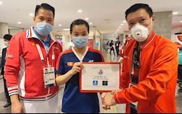 Nguyễn Thùy Linh tiết lộ bí quyết giành chiến thắng đầu tay tại Olympic Tokyo 2020