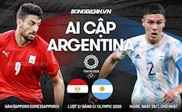 Nhận định Ai Cập vs Argentina (14h30 ngày 25/7): Trận chiến sống còn