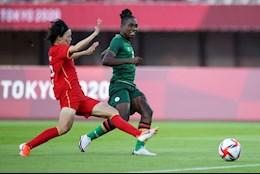 Ghi hattrick vào lưới ĐT nữ Trung Quốc, nữ tuyển thủ Zambia lập kỷ lục ở Olympic