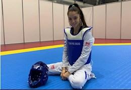 Vẻ đẹp gây nhung nhớ của bóng hồng môn Taekwondo tại Olympic Tokyo 2020