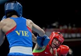 VIDEO: Nguyễn Thị Tâm thất bại ở hạng dưới 51kg