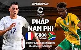 Nhận định Olympic - Pháp vs Nam Phi (15h00 ngày 25/7): Người khốn gặp kẻ khó