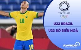 Video Brazil vs Bờ Biển Ngà (Vòng bảng Bóng đá nam Olympic 2020)