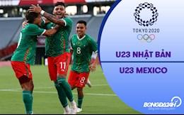 Video Nhật Bản vs Mexico (Vòng bảng Bóng đá nam Olympic 2020)