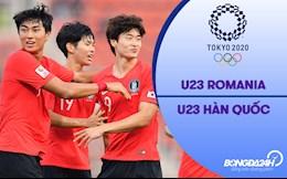 Video Romania vs Hàn Quốc (Vòng bảng Bóng đá nam Olympic 2020)