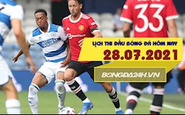 Lịch thi đấu bóng đá hôm nay 28/7: BD nam Olympic; Giao hữu MU, Tottenham