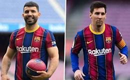 """Aguero sẽ trở thành """"Suarez mới"""" của Messi?"""